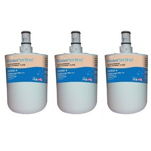 Water Sentinel WSW-4 Refrigerator Filter | Whirlpool 8171413 | 3 Pack